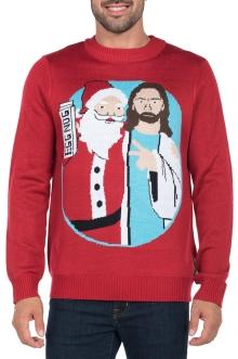 mensfunny_santa_jesus_sweater